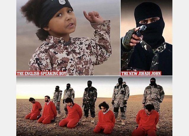 """فيديو لـ""""داعش"""" يظهر """"إعدام 5 أشخاص يزعم أنهم تجسسوا لصالح بريطانيا"""""""