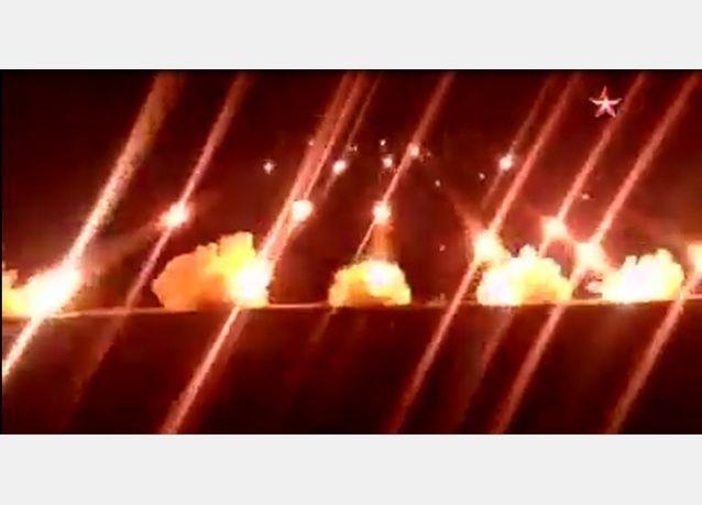 بالفيديو:  قصف تركي على مواقع شمال سوريا