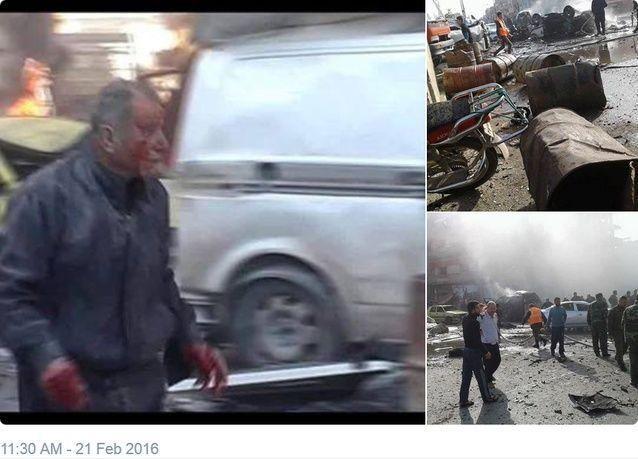 المرصد السوري وتلفزيون: تفجيران في مدينة حمص وسقوط عدد كبير من الضحايا