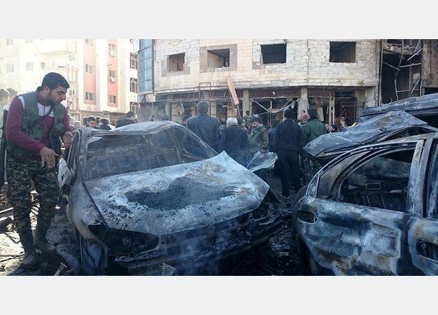 تفجيرات متعددة تضرب منطقة السيدة زينب بجنوب دمشق