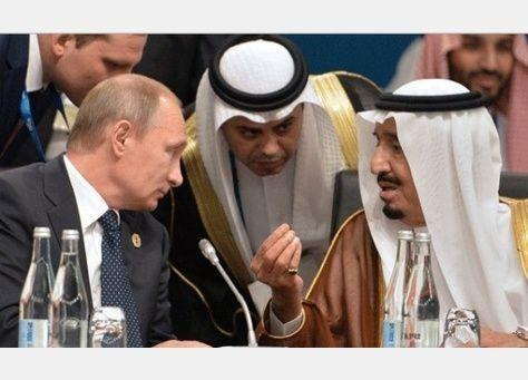 بوتين يبلغ الملك سلمان بتفاصيل خطة وقف إطلاق النار في سوريا