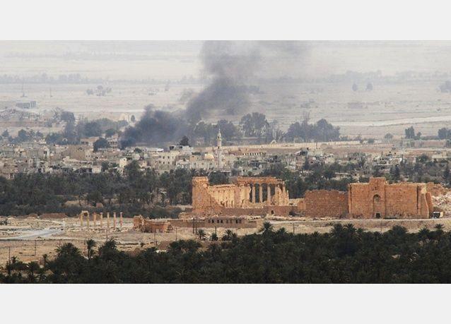 طرد داعش من مدينة تدمر السورية التاريخية