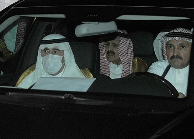 صور من تشييع جثمان الأمير سلطان بن عبدالعزيز آل سعود