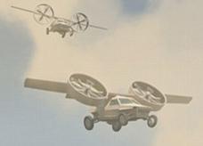أول سيارة حربية طائرة وبرمائية العام القادم