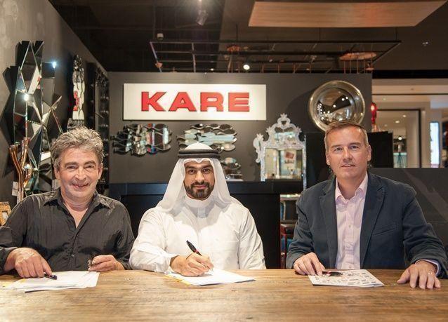 مجموعة شركات عيسى صالح القرق تنال حق امتياز منتجات كاري ديزاين