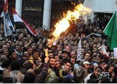 احتجاجات لرجال شرطة بمصر تعطل العمل في بعض مديريات الأمن