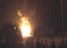 بالفيديو: استمرار حرائق السويس لليلة الثالثة.. والنيران تمتد لخزانات جديدة
