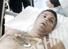 فارس كرم في المستشفى بعد أن نجا من الموت