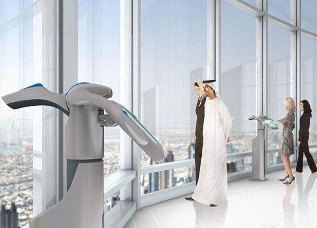 بالصور : برج خليفة يتصدر أعلى منصات المراقبة المفتوحة في العالم