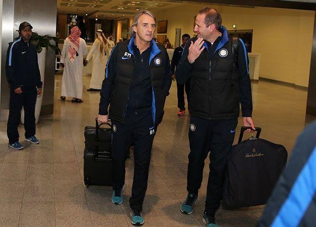 بالصور : سان جيرمان وإنتر ميلان يتواجهان وديا في الدوحة