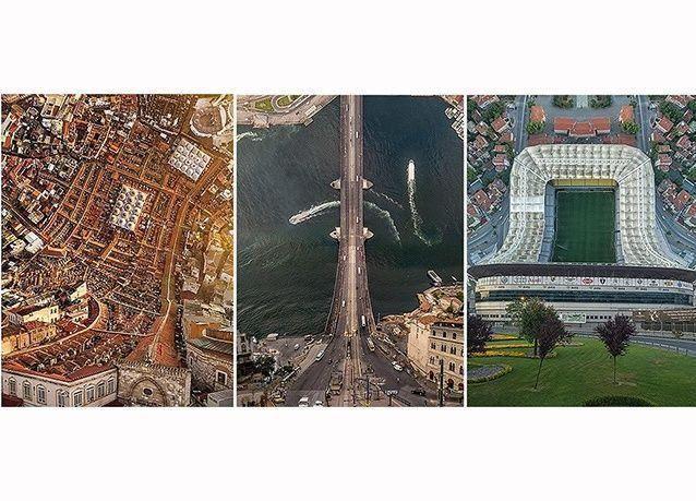 صور مذهلة بتقنية ثلاثية الأبعاد لمعالم إسطنبول