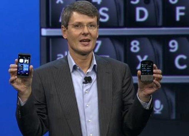 بالصور: هاتفين جديدين على منصة بلاك بيري 10