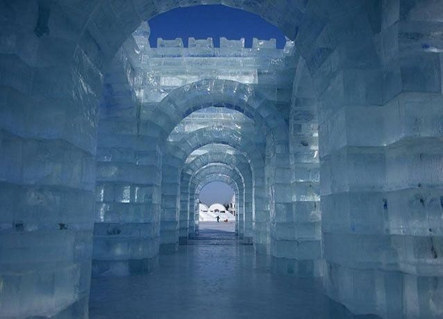 بالصور : مهرجان الثلج في الصين
