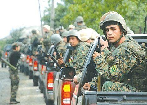 عملية عسكرية للجيش الجورجي بالقرب من الحدود الروسية ضد متشددين