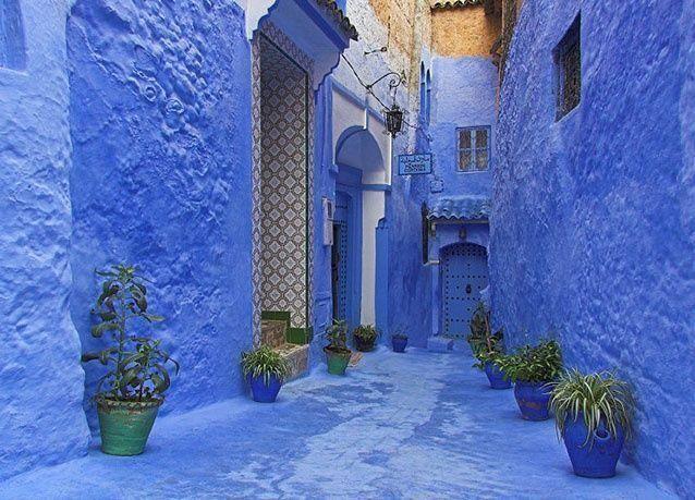 """بالصور: مدينة """"شفشاون"""" المغربية .. قطعة من السماء افترشت الأرض"""