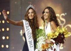 رينا شيباني تتوج ملكة لجمال لبنان والوصيفة شقيقتها التوأم