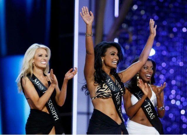 بالصور: أمريكية من أصل هندي تتوج بلقب ملكة جمال الولايات المتحدة 2014