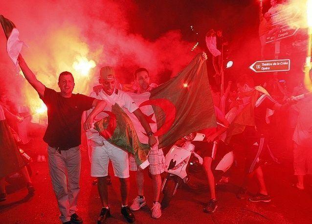 فرنسا تمنع الجزائريين من متابعة المباراة ضد ألمانيا