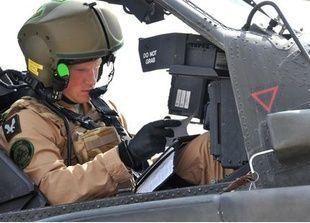 الأمير هاري يقتل أول أفغاني بقصف جوي