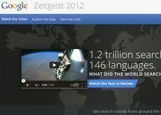 ما الذي بحث عنه العالم على الإنترنت عام 2012؟