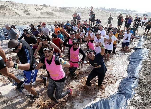 "بالصور : سباق ""سبارتان"" في دبي"