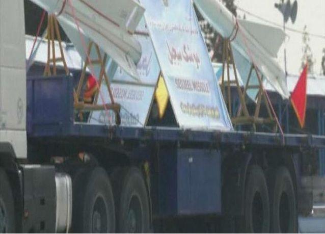 ايران تعرض للمرة الأولى 30 صاروخا بالستيا يبلغ مداها ألفي كم