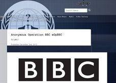 بسبب التحيز ضد غزة لصالح كيان اسرائيل أنونيموس تهاجم بي بي سي
