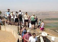 """القتال في سوريا يتحول إلى نقطة جذب """"سياحي"""" وتشفي لسكان كيان إسرائيل"""