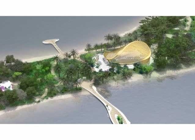 """بالصور : افتتاح """"جزيرة النور"""" في إمارة الشارقة"""