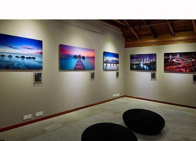 بالصور : معرض الفن الاكثر تميزا للتصوير الفوتوغرافي في جزر المالديف