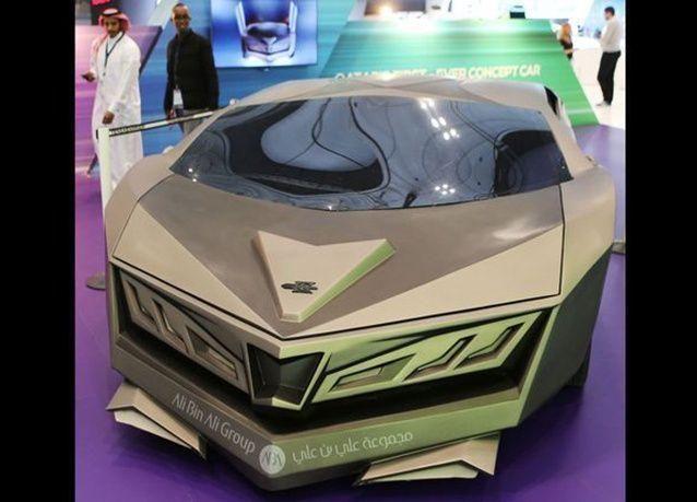 بالصور : الكشف عن أول سيارة رياضية قطرية في معرض قطر للسيارات 2016