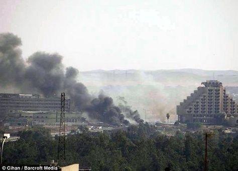نصف مليون من سكان الموصل يفرون من المعارك