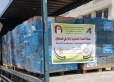 أكثر من خمسة آلاف طرد توزعها مؤسسة خليفة للاعمال الانسانية على الاسر المحتاجة في الاراضي الفلسطينية