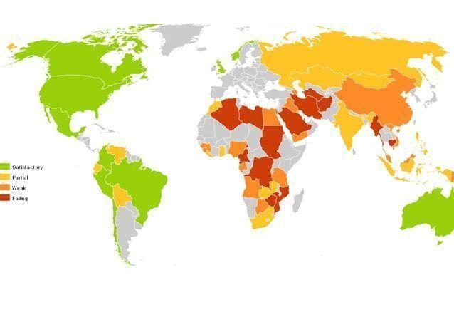 بالصور: إهدار الثروة النفطية بسبب ضعف حوكمة الموارد حسب المؤشر الخاص بإدارتها