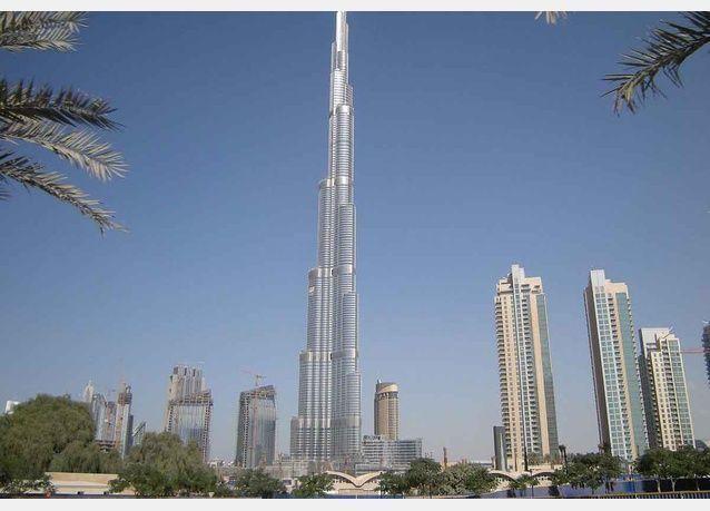 مبنى جديد لبنك إتش إس بي سي قرب برج خليفة
