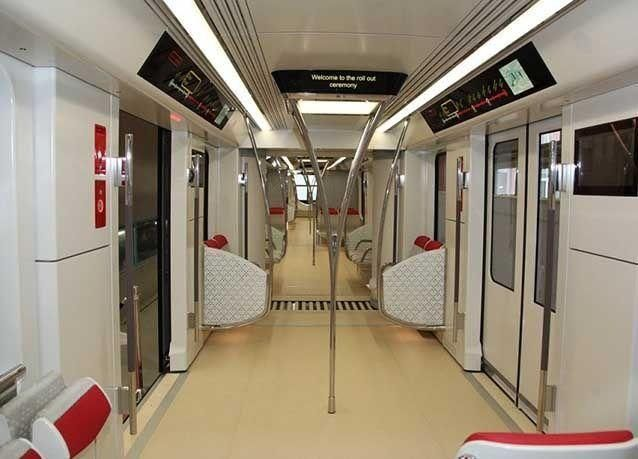 """بالصور : اكتمال تصنيع القطار الأول في مشروع """"مترو الرياض"""" بالنمسا"""