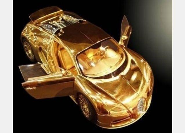 عرض أغلى مجسم لسيارة بـ5.5 مليون يورو في دبي