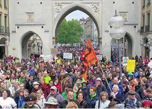 احتجاجات عالمية ضد شركة موسانتو التي تروج للبذار المعدلة وراثيا