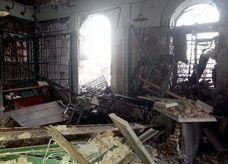 سوريا تتهم المعارضة المسلحة بتدمير مسجد خالد بن الوليد