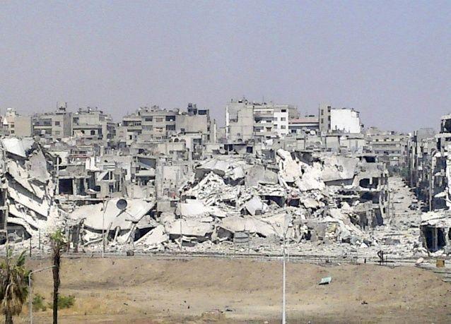 وقف إطلاق النار في حمص السورية للسماح بانسحاب مقاتلي المعارضة