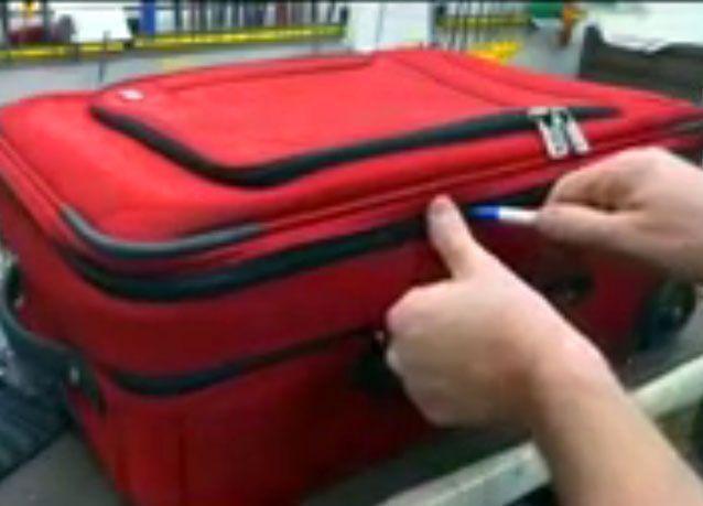 بالفيديو: كيف تحمي حقيبتك من السرقة في المطارات