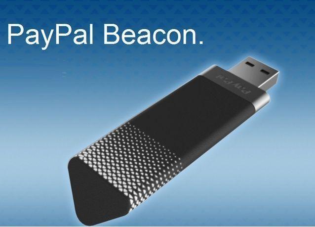 جهاز للدفع اللاسلكي في المتاجر من باي بالPayPal