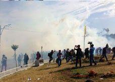 الشرطة تقتحم ساحة تقسيم مركز التظاهرات التركية في اسطنبول