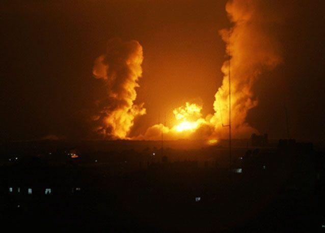 الطيران الإسرائيلي يقصف غزة ويستبيحها في رمضان انتقاما لمقتل 3 مستوطنين