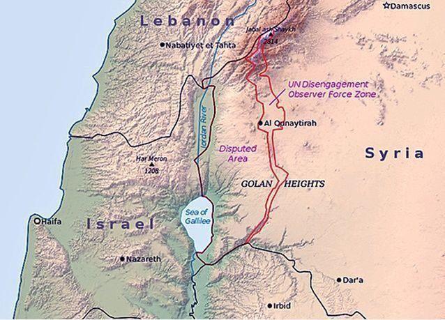 """الجولان المحتل: """"اسرائيل"""" تمنح أول امتياز نفطي لشركة ديك تشيني"""