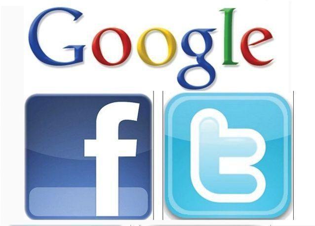 فيسبوك وتويتر وغوغل تتجسس على مستخدمي خدماتها