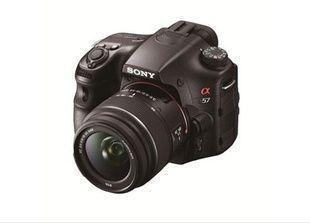 """إطلاق كاميرا سوني الجديدة """"ألفا 57"""""""