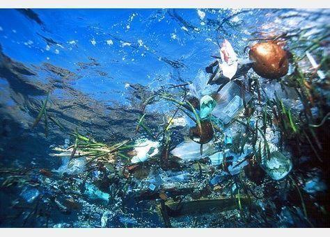 269 ألف طن من نفايات البلاستيك تفتك بمياه المحيطات