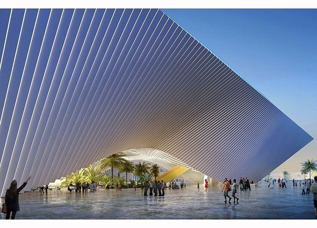 """بالصور : الإعلان عن الفائزين في مسابقة تصميم أجنحة """"معرض إكسبو 2020"""""""