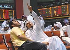 هبوط معظم البورصات الخليجية مع استمرار المخاوف السياسية